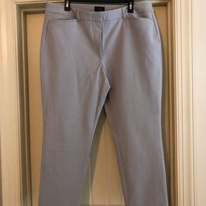 WHBM skinny ankle pant in gray size 16